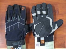 5.11 Tactical Station Grip Multi-Task Gloves, Black, 2 XL