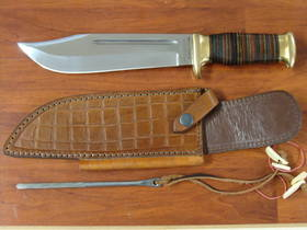 Down Under Knives The Walkabout Bowie Knife