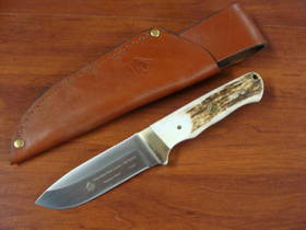 PUMA Mule Deer Stag Handle Fixed Knife