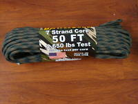 ARM BattleCord/ Battle cord 2,650 lbs Tested - Woodland Camo