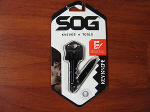 SOG Key Knife Black