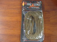 550 Fire Cord / Firecord 25ft - Coyote Brown