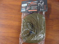 550 Fire Cord / Firecord 100ft - Coyote Brown