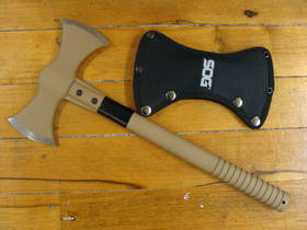 SOG Double Headed Axe Tan