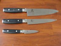 RAN Japanese DAMASCUS 3PCS KNIFE SET