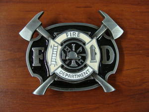 GIFTZONE - FIRE FIGHTER BUCKLE WITH $120 PURCHASE