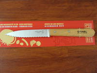 Opinel Beechwood handle Paring Knife Serrated