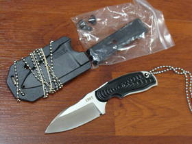 CRKT Flavio Ikoma Civet Neck Knife w/ Sheath