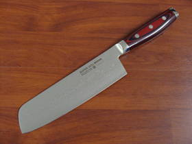 Super GOU Japanese Nakiri Knife 180mm