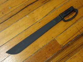 "Ontario OKC 18"" Camper - Black ""D"" Handle Machete"