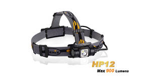 Fenix 900LM Headlamp HP12 Waterproof 2M- Black