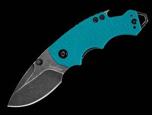 Kershaw Shuffle, Teal Black Wash Folding knife