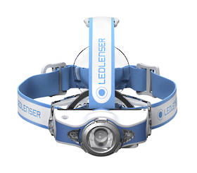 Led Lenser Rechargeable MH11 Headlamp 1000 lumens - Blue