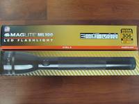 Maglite ML-100 LED 3 Cell C Torch 137 Lumens