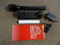 Maglite ML125 LED Rechargeable Flashlight System - no box 30 days warranty