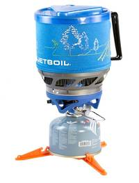 JETBOIL MINIMO COOKING SYSTEMS - SAPPHIRE BLUE WITH LINE ART