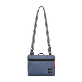 PACSAFE Slingsafe LX50 anti-theft mini cross body bag - Denium