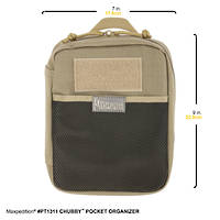 Maxpedition CHUBBY™ POCKET ORGANIZER ~ Khaki