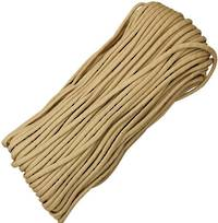 100ft 550 Parachute Cord/Paracord - Desert Tan