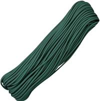 100ft 550 Parachute Cord/Paracord - Hunter Green