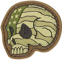 MAXPEDITION Stars Stripes Skull Patch Arid