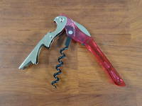 Due Cigni - Corkscrews Bottle Opener Red VM-4