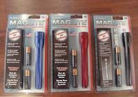 Maglite AA Torch w/holster - 2 Colours