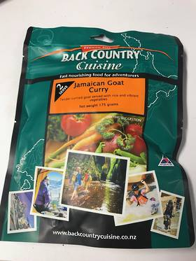 Back Country Cuisine Jamaican Goat Curry 2 Serve