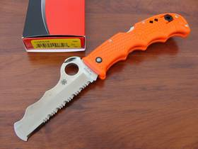 Spyderco Assist I Rescue folding Knife