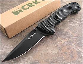 CRKT Hammond Cruiser Clip Point Folding Knife Black Blade