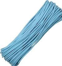 100ft 550 Parachute Cord/Paracord - Carolina Blue