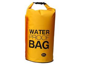 Waterproof tube style dry bag 20L