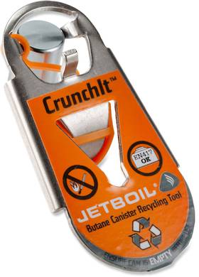 Jetboil Crunchlt Fuel Canister Recycling Tool