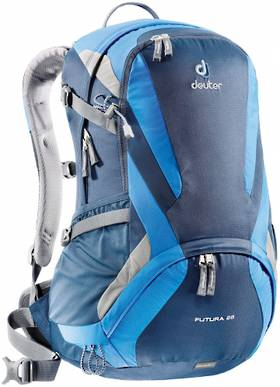 DEUTER FUTURA 28, MIDNIGHT COOLBLUE