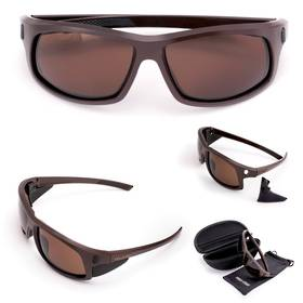 Cold Steel Battle Shades Mark-I Eyewear, Matte Brown Sunglasses