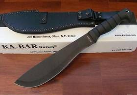 Ka-bar Cutlass Machete & Condura Sheath