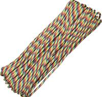 100ft 550 Parachute Cord/Paracord - Light Stripe