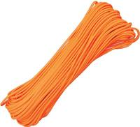 100ft 550 Parachute Cord/Paracord Neon Orange