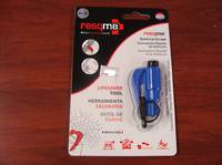 ResQMe Keychain Rescue Emergency Tool-  Blue