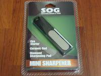 SOG Firestarter & sharpener Combo Set