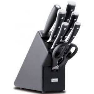 Wusthof Classic Ikon 7 Piece Knife Block Set - 9878