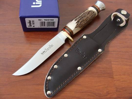 Buy Linder Traveller Stag Knife 8 Quot German Made At Blade Master