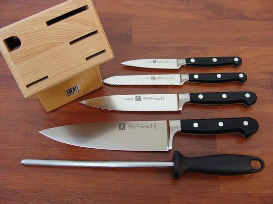 Zwilling J.A Henckels Professional S 6 Pc Knife Block Set