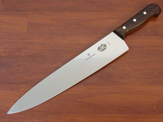 buy victorinox chef knife 31cm rosewood at blade master. Black Bedroom Furniture Sets. Home Design Ideas