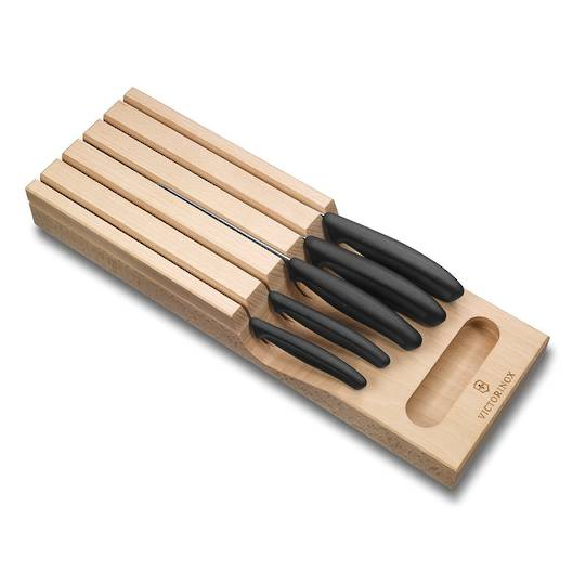 Buy Victorinox Swiss Classic In Draw Knife Holder With 5