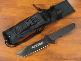 Smith & Wesson Homeland Security Medium Tanto Fixed Blade Knife