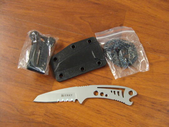 CRKT Dogfish Neck Knife Fine or Combo Edge