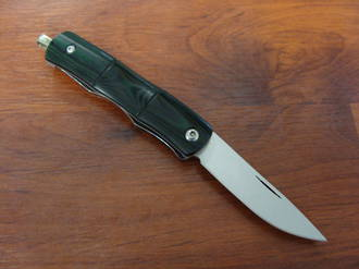 Mcusta Susu-Take Money Clip Neck Knife Green