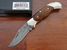 Boker Magnum Lady Damascus Pocket Knife