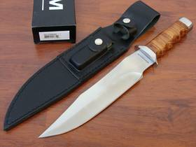 Boker Magnum Giant Bowie Knife w/ Leather Sheath